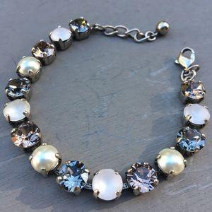 Swarovski Crystal Tennis-Style Bracelet